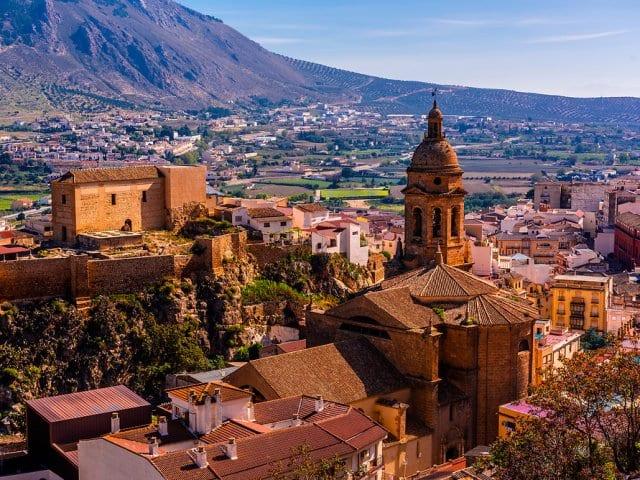 Cidades perto de Granada