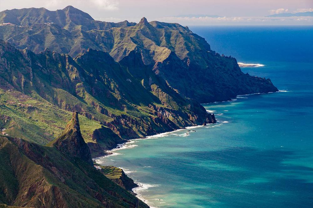 Montanhas de Anaga em Tenerife