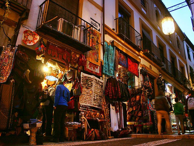 Compras em Granada