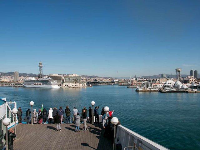 Rotas de ferry boat saindo de Barcelona